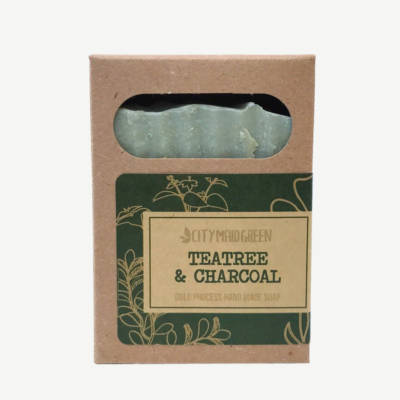 Artisan Soap Teatree Charcoal